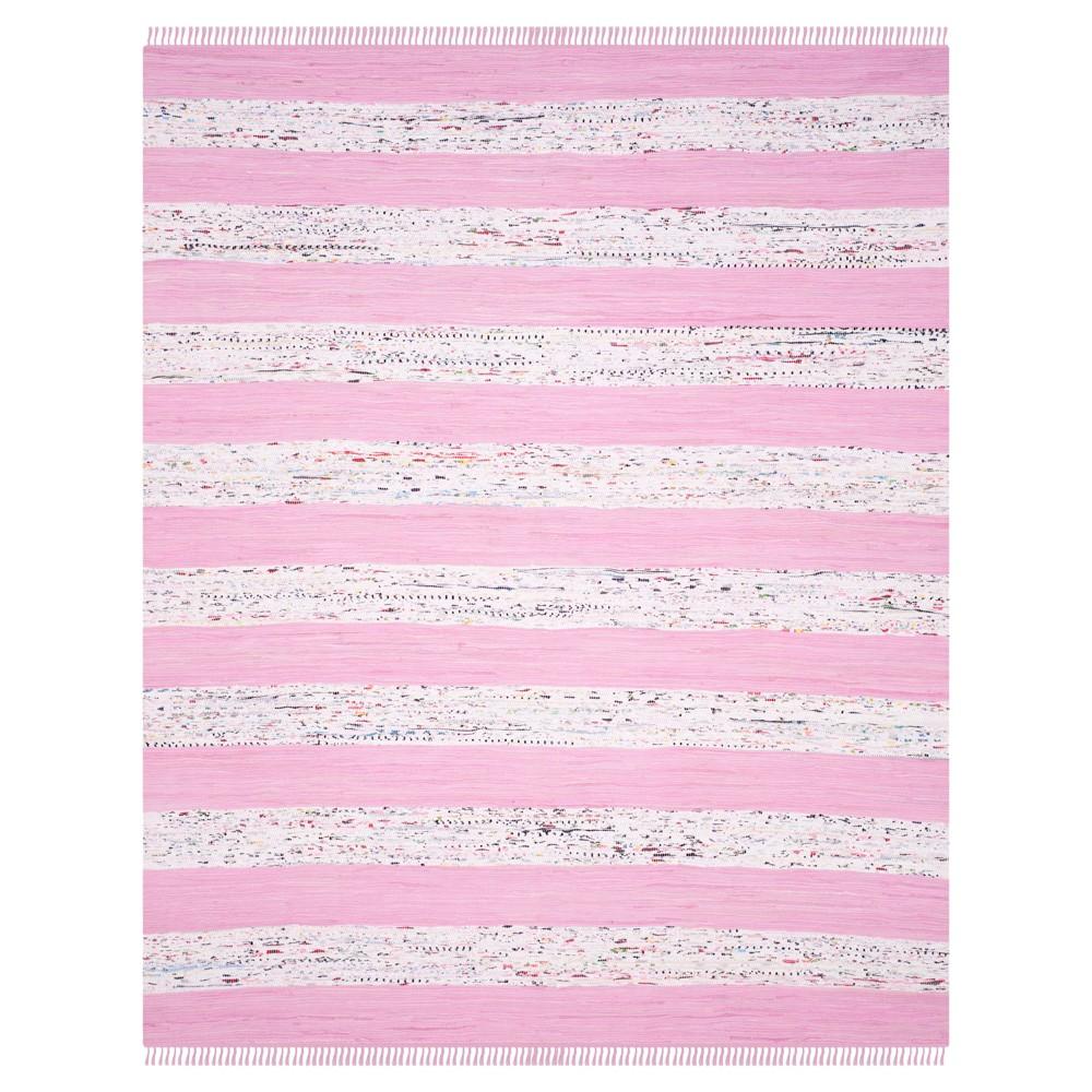 Carine Flatweave Area Rug - Ivory / Light Pink (8' X 10') - Safavieh, Ivory/Light Pink