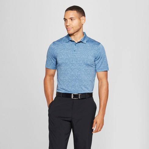 4d1f321a1 Men s Spacedye Polo Shirt - C9 Champion® Blue Mylar XL   Target