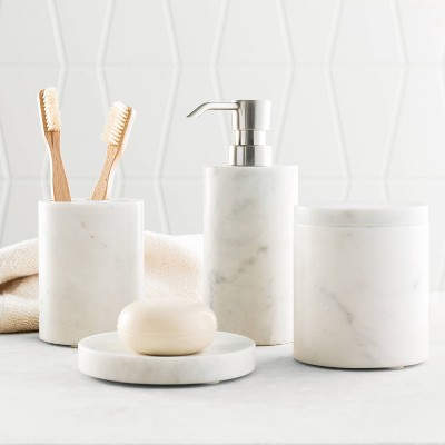 4pc Bath Coordinate Set Marble - Project 62™