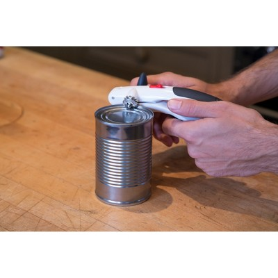 Zyliss Lock-and-Lift Can Opener White