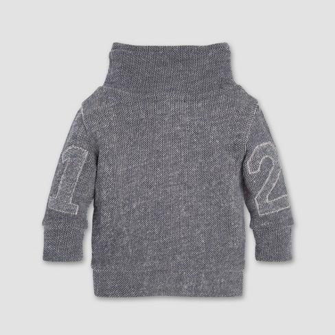 360c81f82 Burt s Bees Baby® Baby Boys  Loose Pique Applique Sweatshirt ...