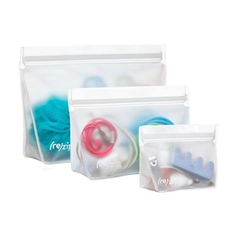 Leak Proof Reusable Storage Bag Kit