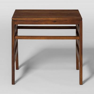 Modular Outdoor Acacia Side Table - Saracina Home