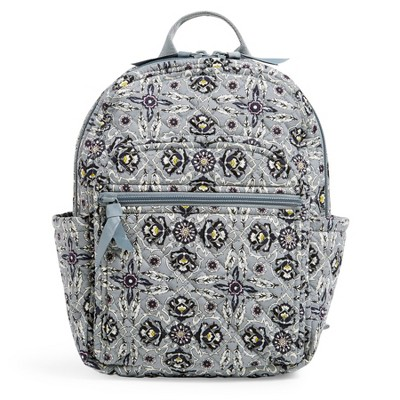 Vera Bradley Women's Recycled Cotton Small Backpack