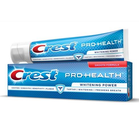 crest pro health whitening power toothpaste 4 6oz target