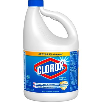 Clorox Regular Liquid Bleach - 121oz