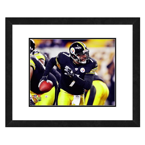 sports shoes 4b65f f0daf Pittsburgh Steelers Ben Roethlisberger Framed Photo