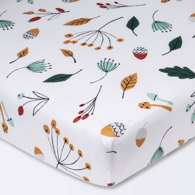 Fitted Crib Sheet Foilage - Cloud Island™