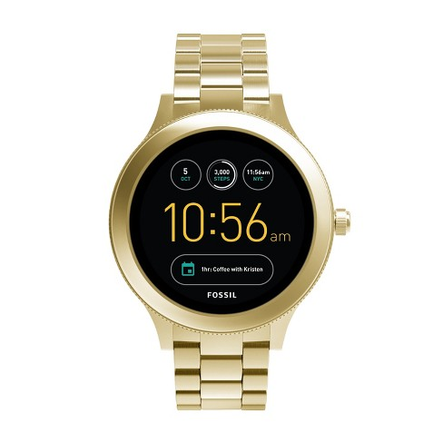 Fossil Gen 3 Smartwatch - Venture 46mm Gold-Tone Stainless Steel - image 1 of 4
