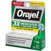 Orajel 3X Medicated For Denture Pain Gel - 0.25oz - image 3 of 3