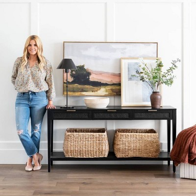How to Decorate Your Black Console Table Collection - Threshold™ designed with Studio McGee