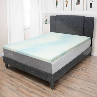 eLuxury 1.5'' Gel Memory Foam Topper