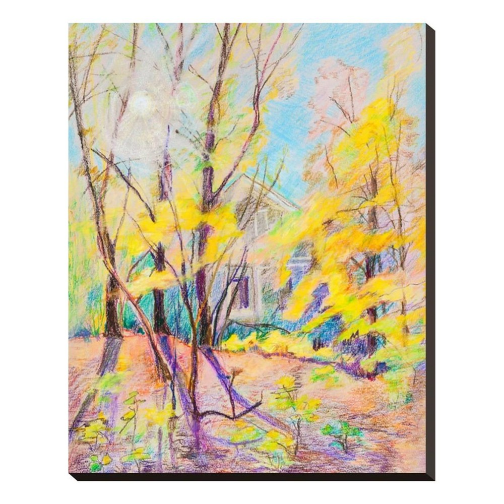 Autumn By Krimzoya Stretched Canvas Print 20x25 - Art.com, Multicolored