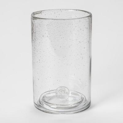 Pillar Holder Bubbled Glass - Smith & Hawken™