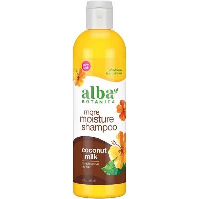 Alba Botanica Coconut Milk Shampoo - 12 fl oz