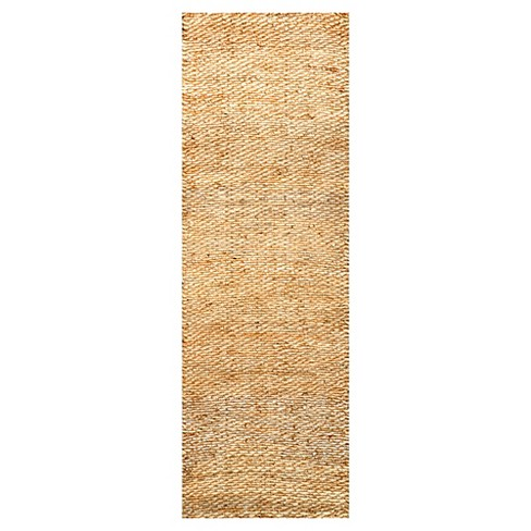 nuLOOM Hand Woven Hailey Jute Rug - image 1 of 2