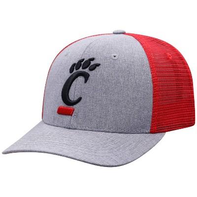 NCAA Cincinnati Bearcats Men's Gray Chambray with Hard Mesh Snapback Hat