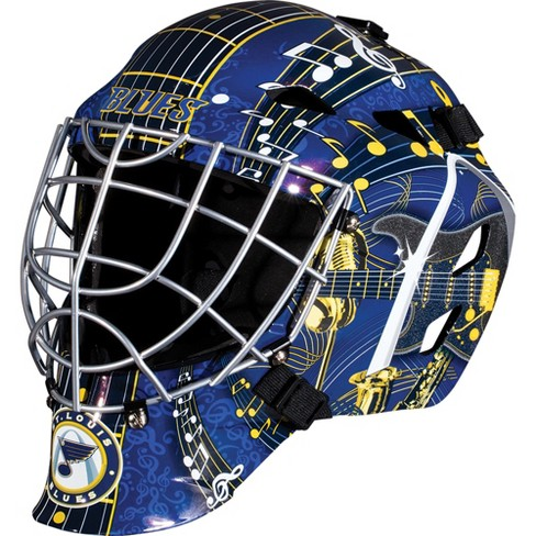 NHL St. Louis Blues Franklin Sports Goalie Helmet   Target b34d15a3a