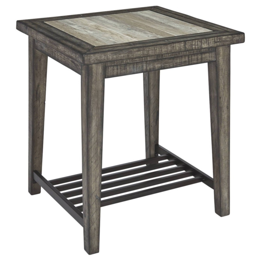 Mavenry Square End Table Grayish Brown - Signature Design by Ashley