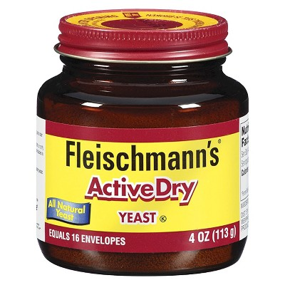 Yeast: Fleischmann's Active Dry Yeast