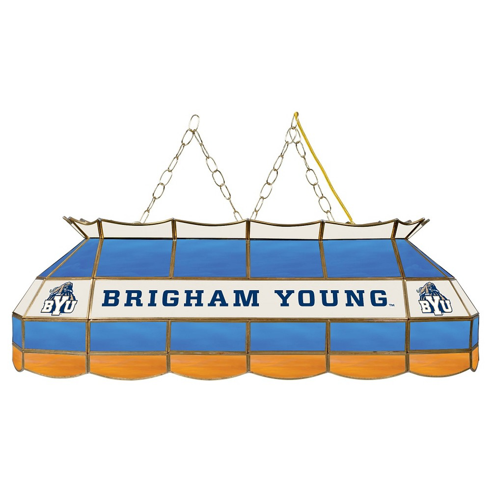 NCAA Byu Cougars Stained Glass Tiffany Lamp - 40