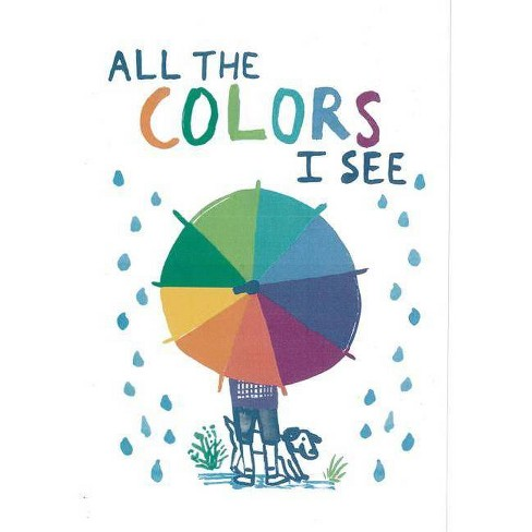 All the Colors I See - by  Allegra Agliardi (Hardcover) - image 1 of 1