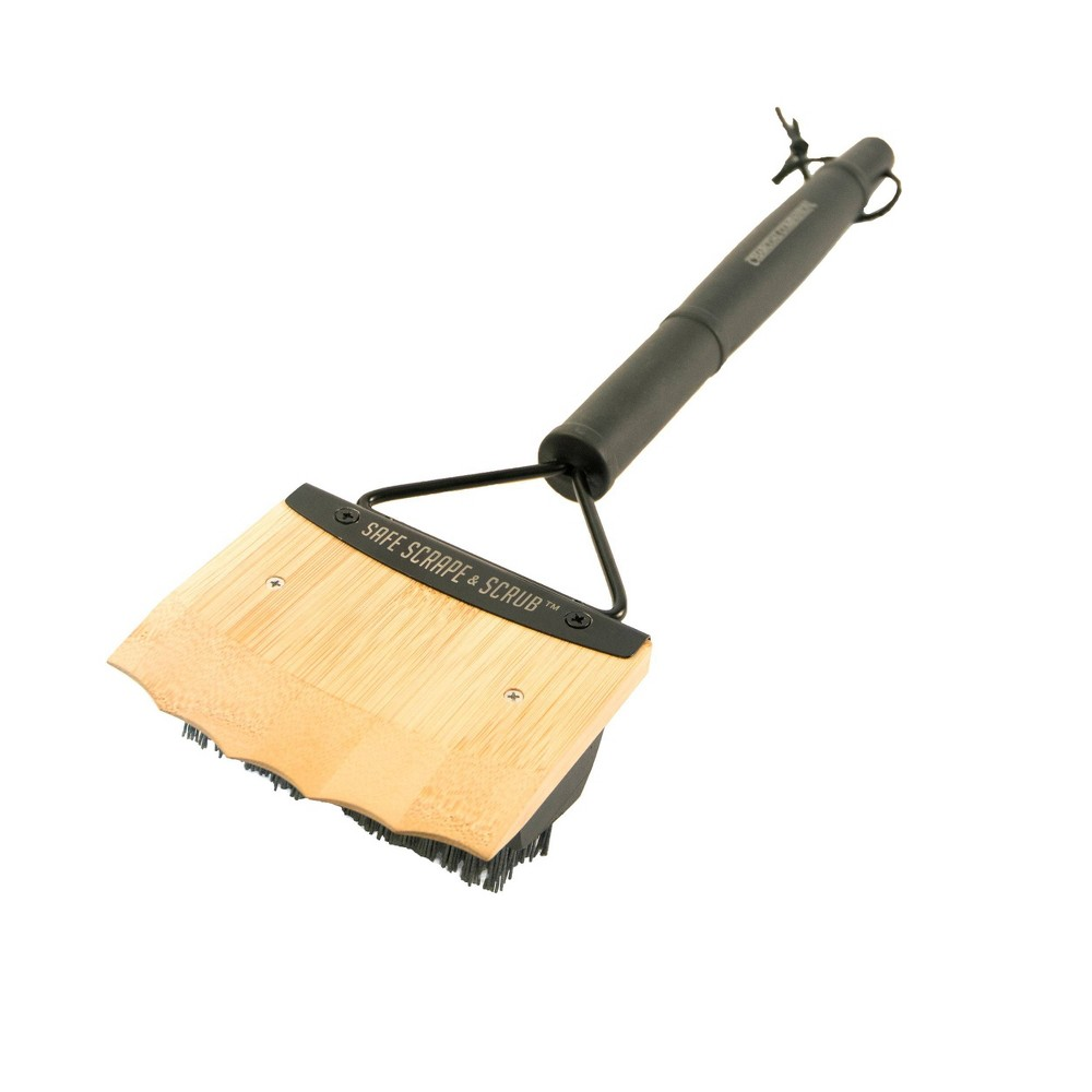 Image of Charcoal Companion Wooden Safe Scrape and Scrub Brush