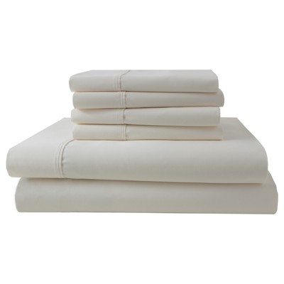 Park Ridge 1000 Thread Count Sheet Set (Queen)Ivory - Elite Home Products