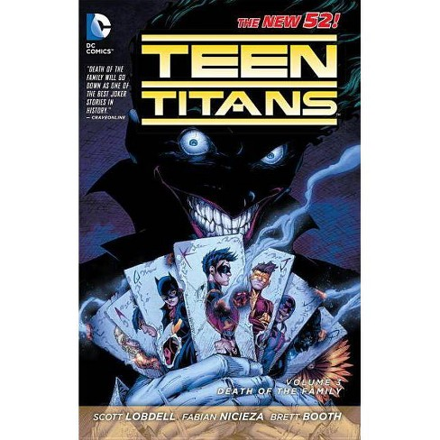 Death of the Family - (Teen Titans) by  Scott Lobdell (Paperback) - image 1 of 1