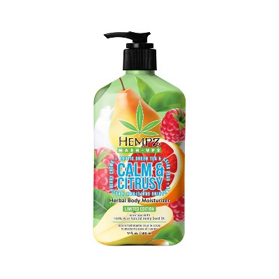 Hempz Limited Edition Calm and Citrusy Herbal Body Moisturizer - 17oz