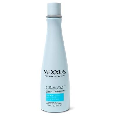 Shampoo & Conditioner: Nexxus Hydra-Light