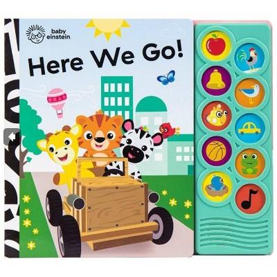 Baby Einstein - Here We Go! Listen and Learn 10-Button Sound Board Book - by Emily Skwish