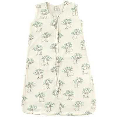 Touched by Nature Baby Organic Cotton Sleeveless Wearable Sleeping Bag, Sack, Blanket, Birch Tree