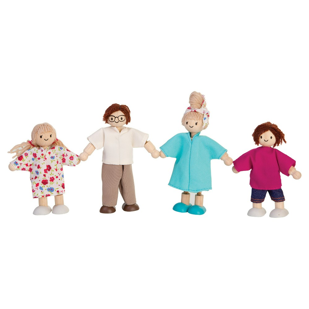 PlanToys Doll Family - Modern, Multi-Colored
