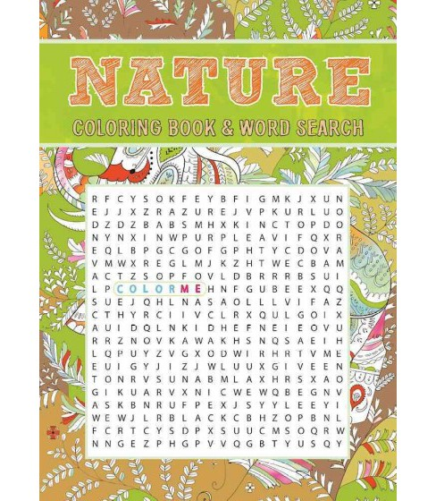 Nature Coloring Book & Word Search (Paperback) - image 1 of 1