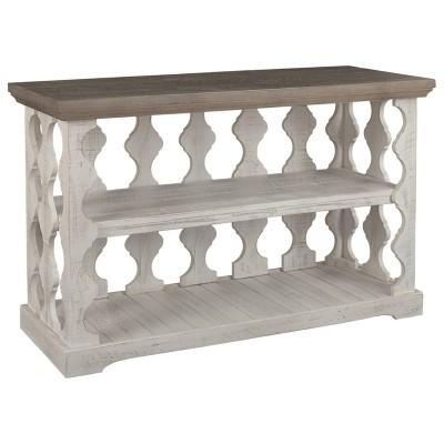 Havalance Sofa/Console Table Gray/White - Signature Design by Ashley