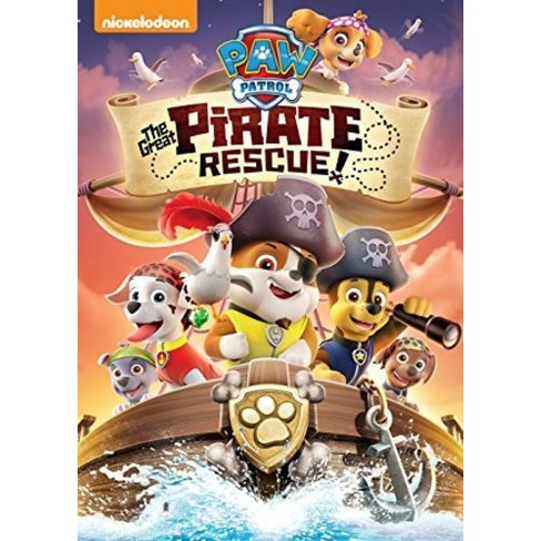 PAW Patrol: The Great Pirate Rescue! (DVD) - image 1 of 1