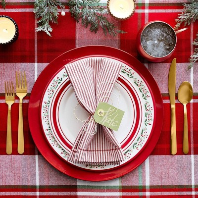 Red & Gold Classic Holiday Tabletop Collection - Threshold™