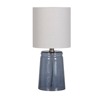 Bubble Glass Accent Lamp Blue - Threshold™