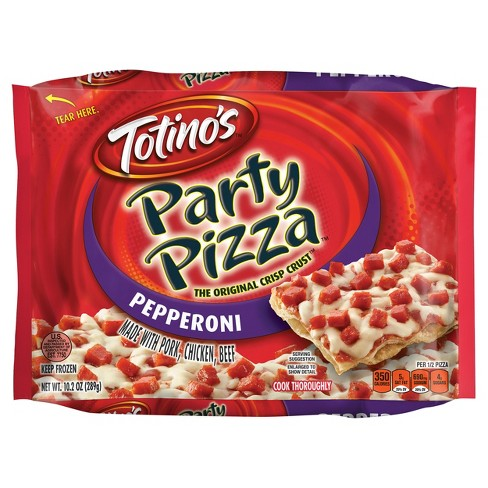 Totino's Pepperoni Party Frozen Pizza - 10.2oz - image 1 of 3