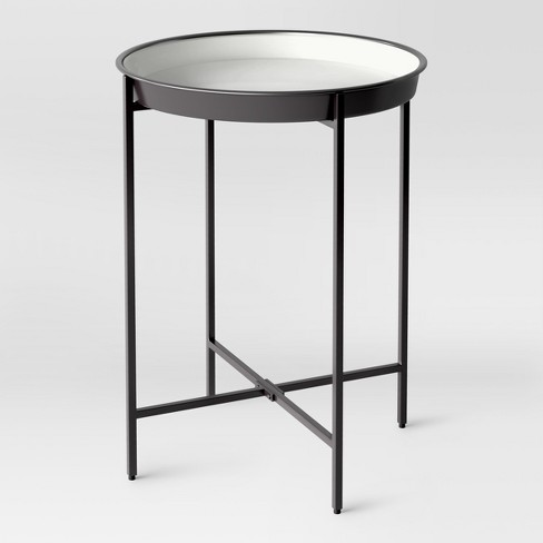 Pradet Tray Accent Table Black/White - Project 62™ - image 1 of 4