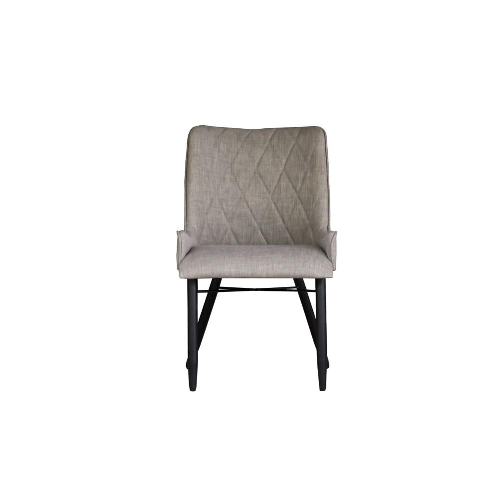Set of 2 Metro Havana Dex Dining Chair Slate Grey - Keswick, Gray