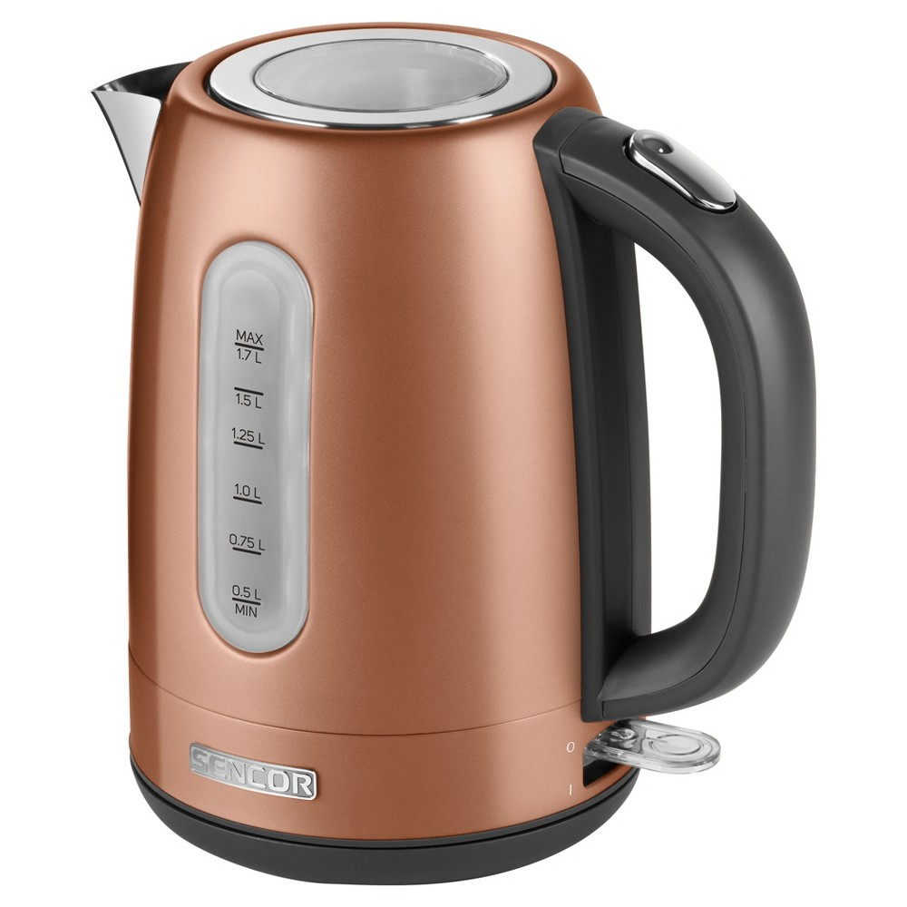 Sencor Metallic 1.7L Stainless Steel Electric Kettle - Gold Sencor Metallic 1.7L Stainless Steel Electric Kettle - Gold