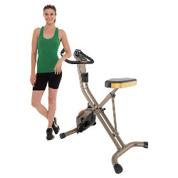 EXERPEUTIC Gold 500 XLS Capacity Foldable Magnetic Bike - 400 lb.