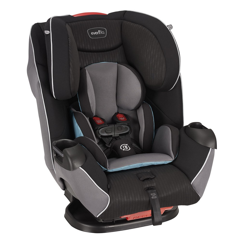 Image of Evenflo Platinum Symphony LX 3-in-1 Convertible Car Seat - Montgomery