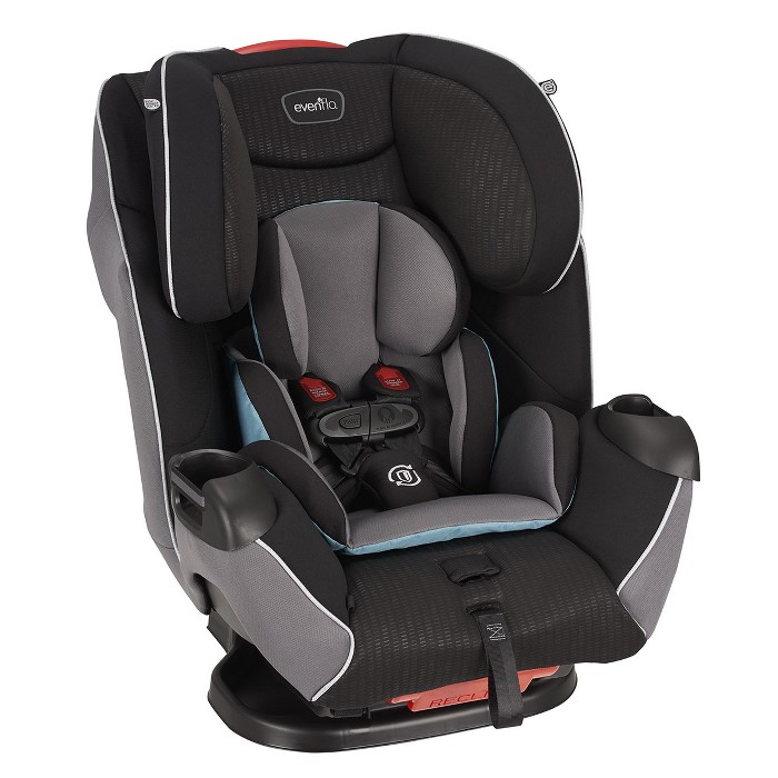 Evenflo Platinum Symphony LX 3-in-1 Convertible Car Seat - Montgomery - image 1 of 12