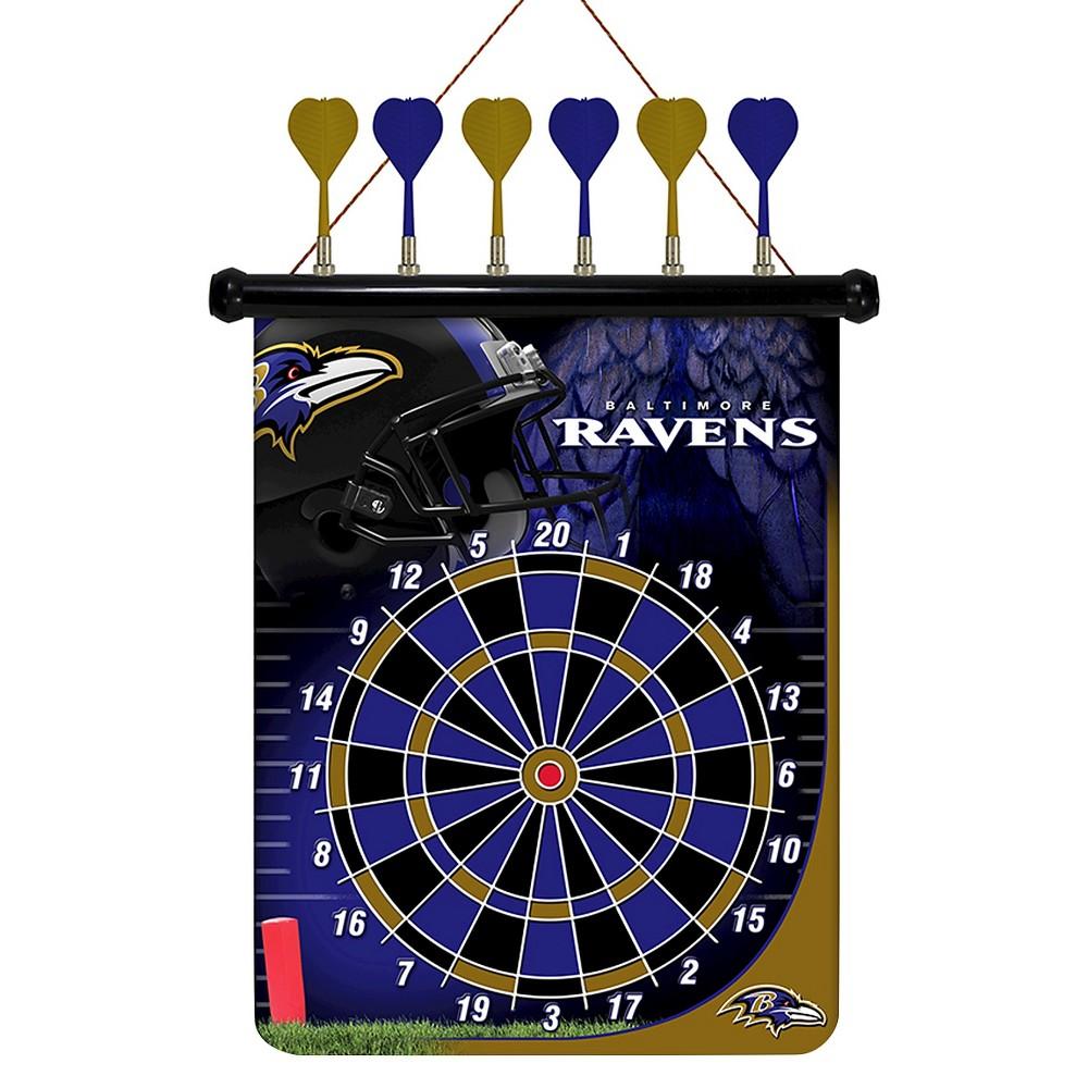 NFL Magnetic Dart Set Baltimore Ravens