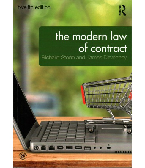 Modern Law of Contract -  by Richard Stone & James Devenney (Paperback) - image 1 of 1
