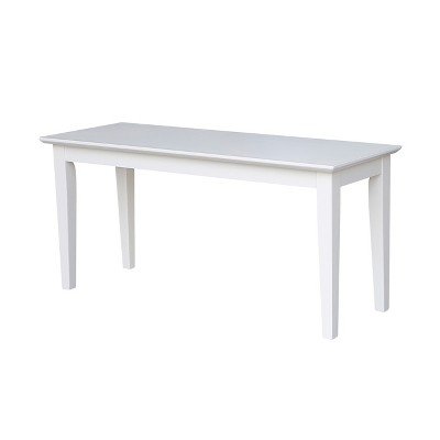 Shaker Styled Bench - International Concepts