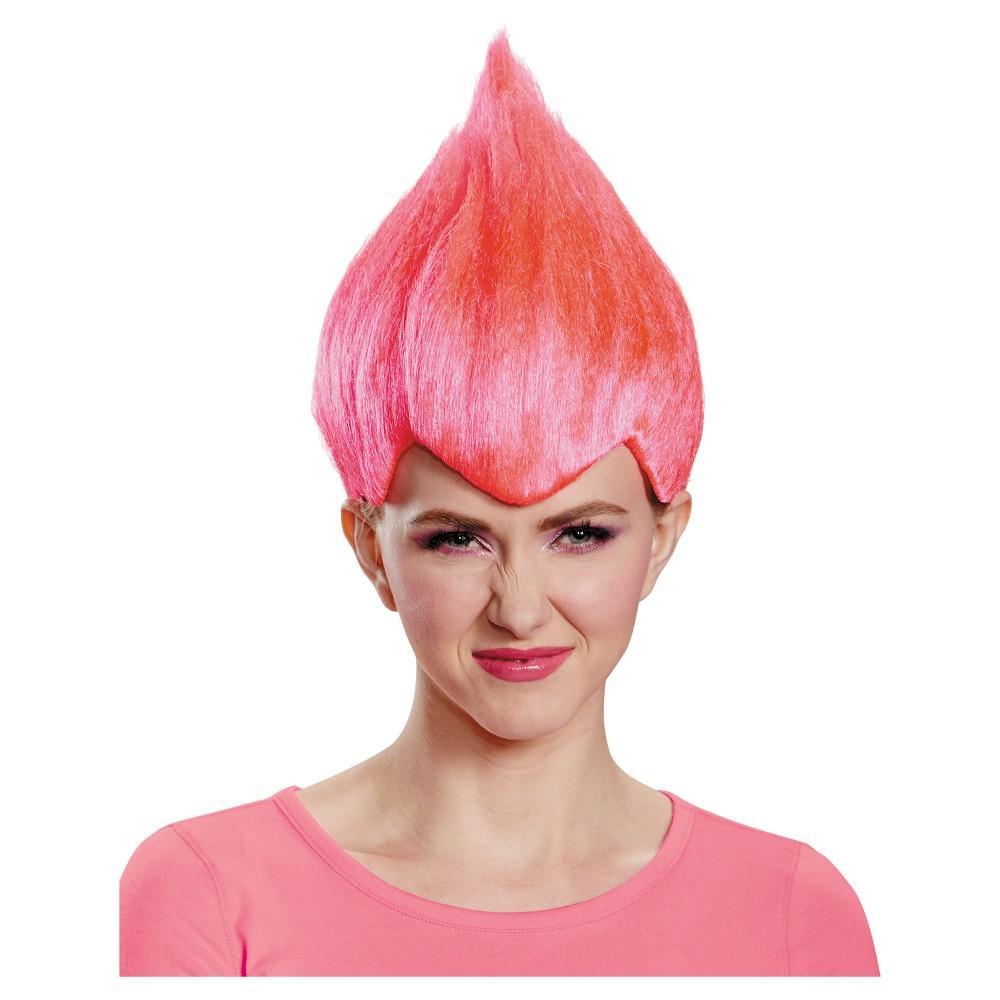 Wacky Adult Costume Wig Pink, Adult Unisex